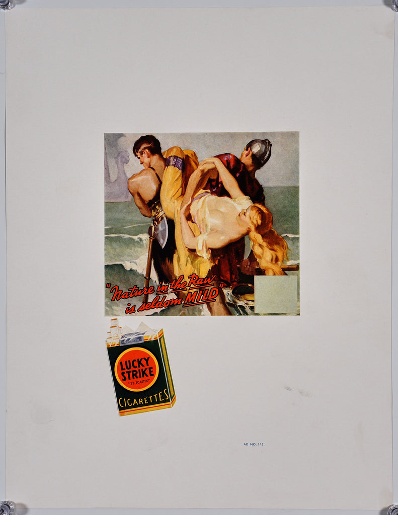 Lucky Strike Ad Proofs (5) (1930s) - Original and Authentic Vintage Poster