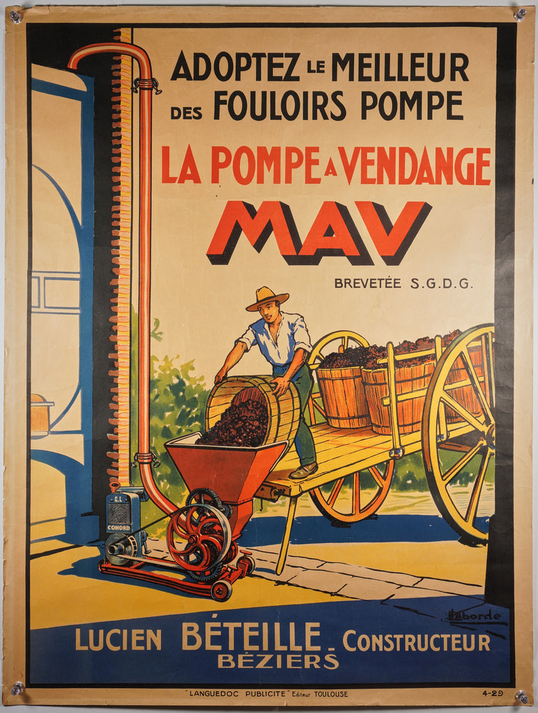 The Vintage Pump- MAV (1929)