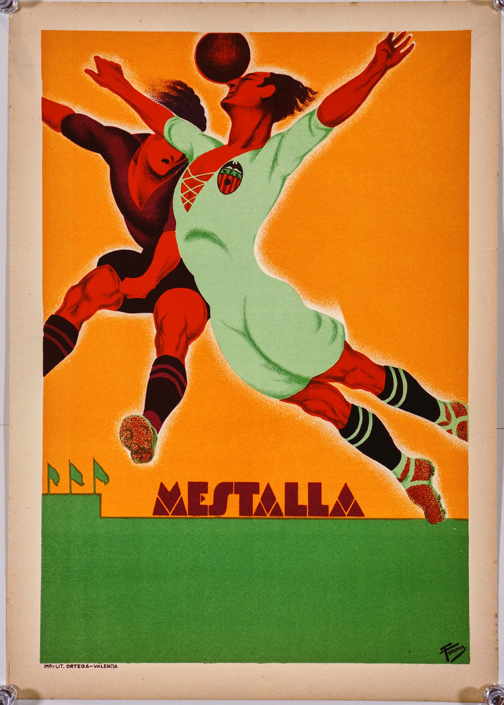 Estadio Mestalla Valencia (c1930) - Authentic Vintage Posters
