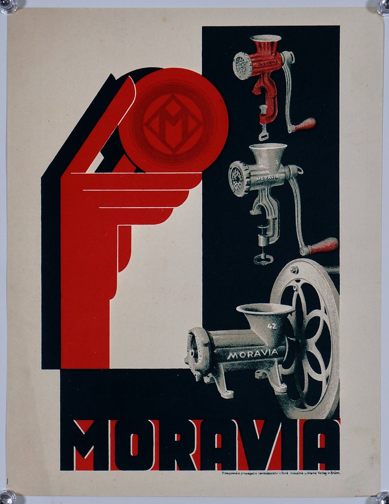 Mora Moravia (1930s) - Original and Authentic Vintage Poster