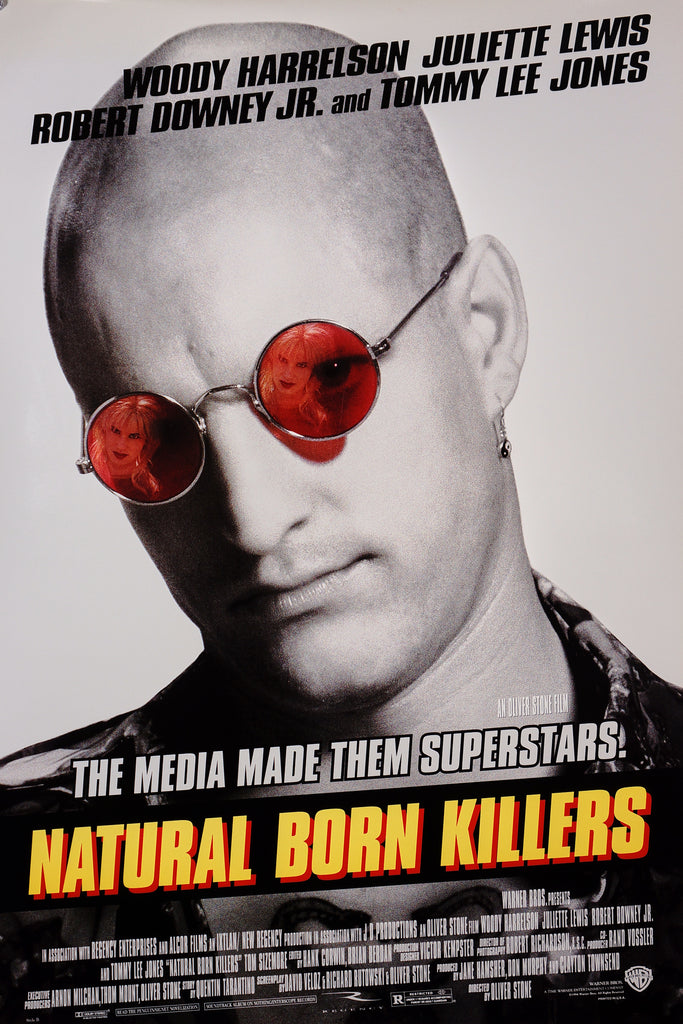 Natural Born Killers (1994) - Original and Authentic Vintage Poster