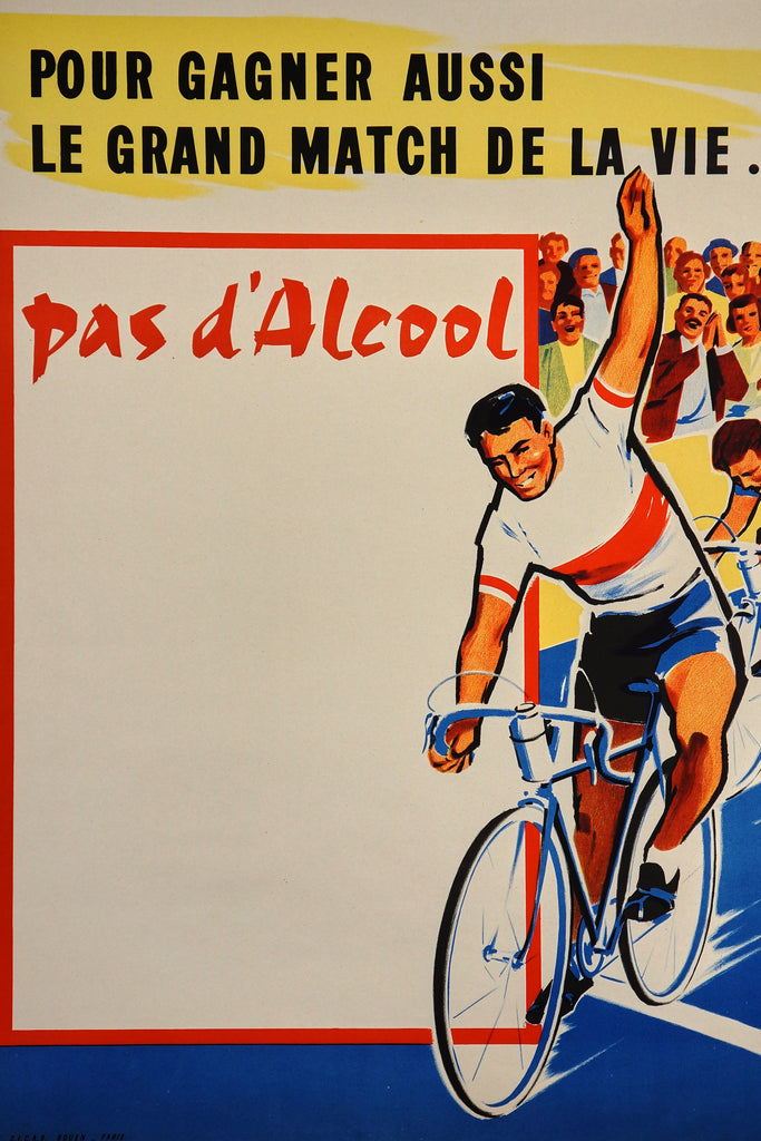 No Alcohol! (1960s) - Original and Authentic Vintage Poster