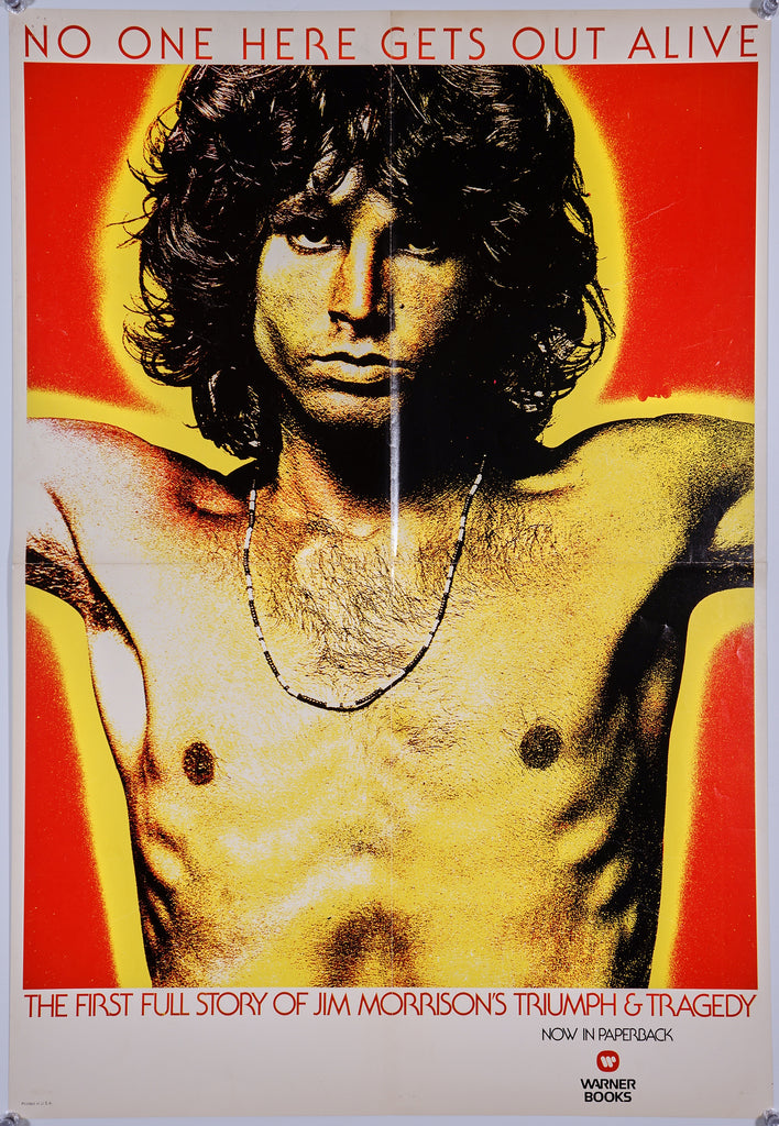 The Doors, Book Promo (1980) - Original and Authentic Vintage Poster