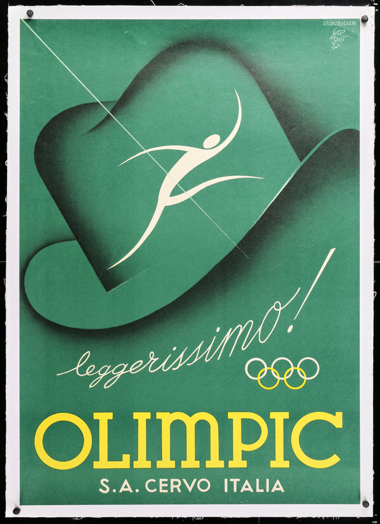 Olimpic (1937) - Original and Authentic Vintage Poster