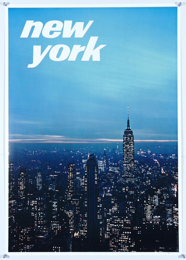 New York City, Empire State Building (1960s) - Original and Authentic Vintage Poster