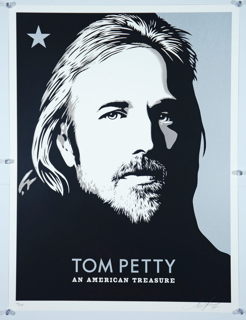 Tom Petty an American Treasure - Original and Authentic Vintage Poster