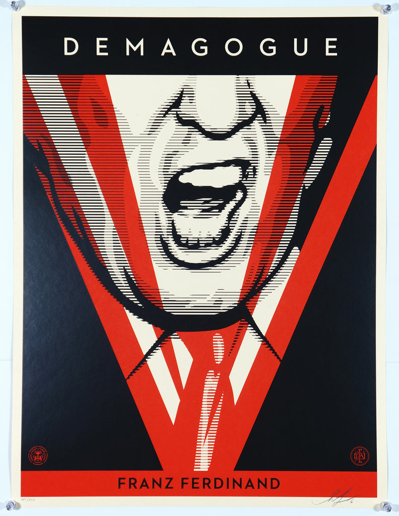 Demagogue - Original and Authentic Vintage Poster