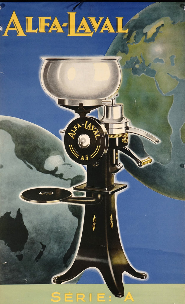Alfa-Laval (1937) - Authentic Vintage Posters