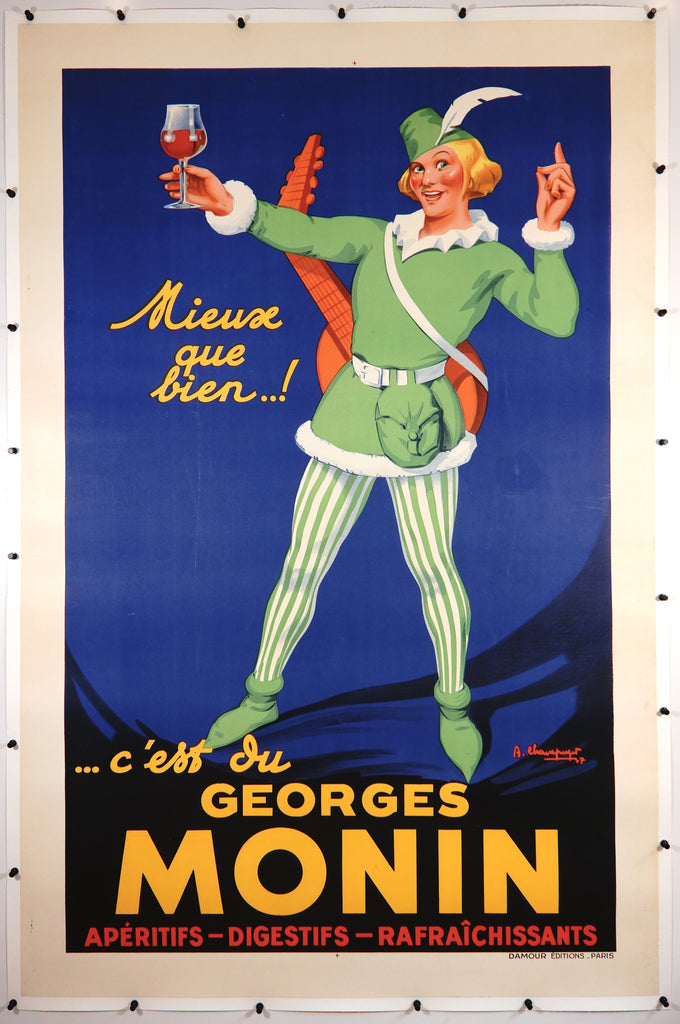 Georges Monin (c1937) - Original and Authentic Vintage Poster