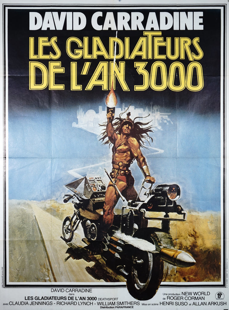 Deathsport (Parafrance, 1978) - Original and Authentic Vintage Poster