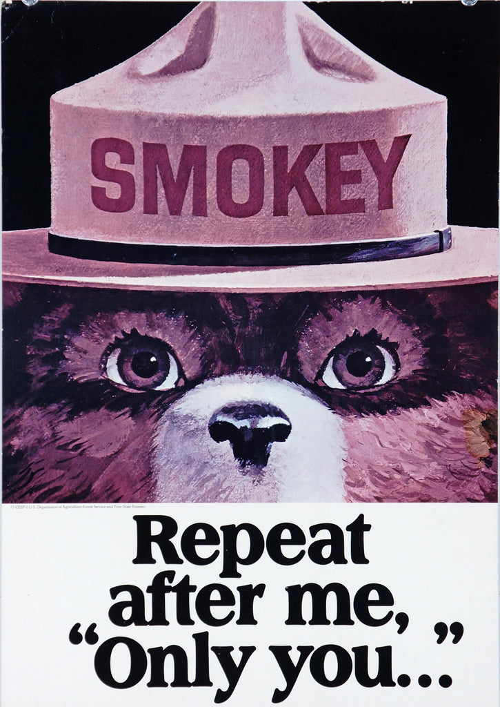 Smokey the Bear- Repeat after Me (1970s)