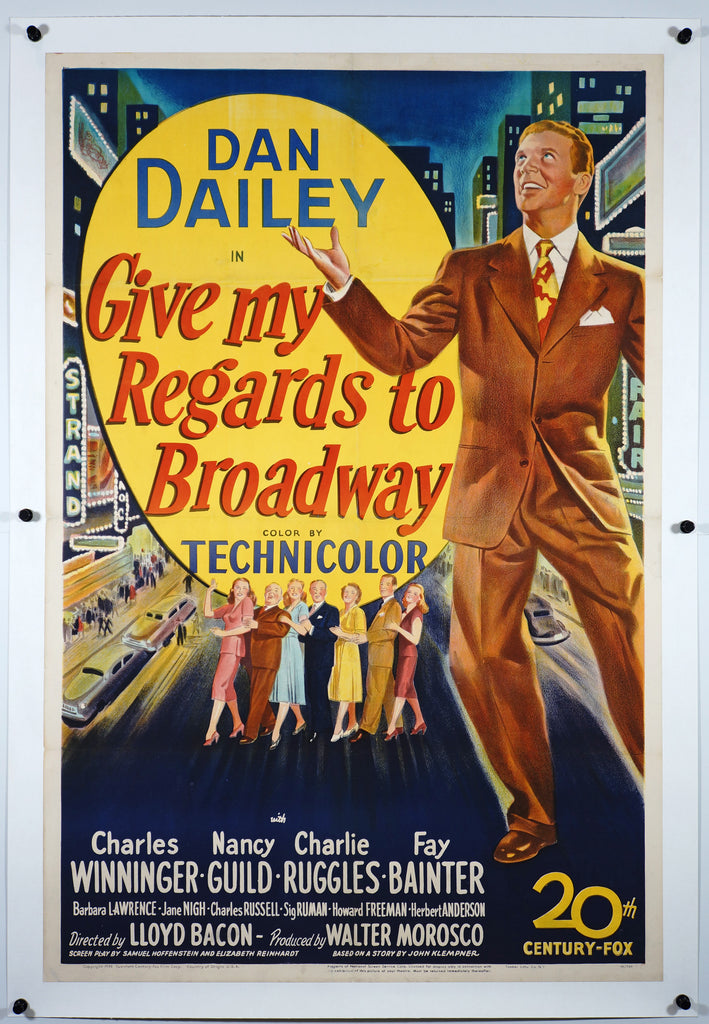 Give My Regards To Broadway (1948) - Authentic Vintage Posters