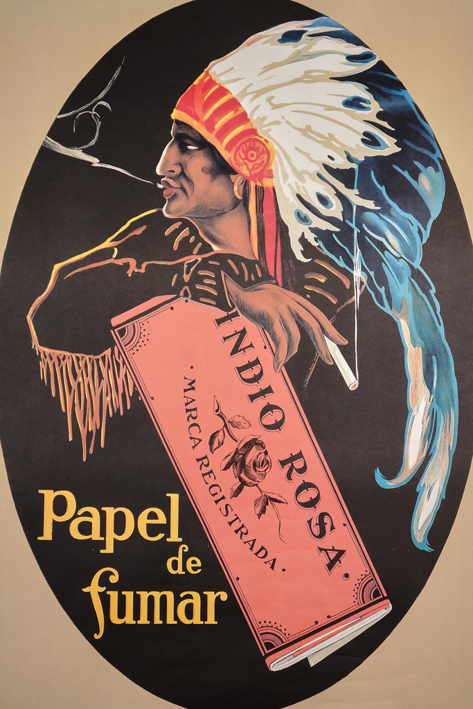 Papel de Fumar (1960s) - Authentic Vintage Posters