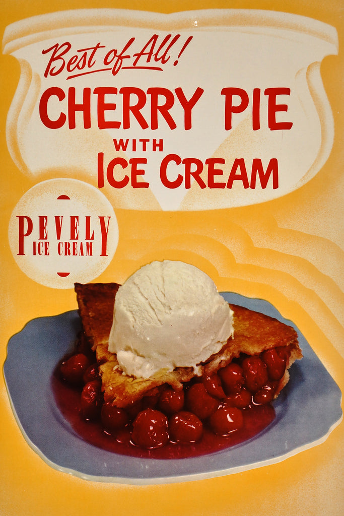 Pevely Ice Cream (1950s) - Original and Authentic Vintage Poster