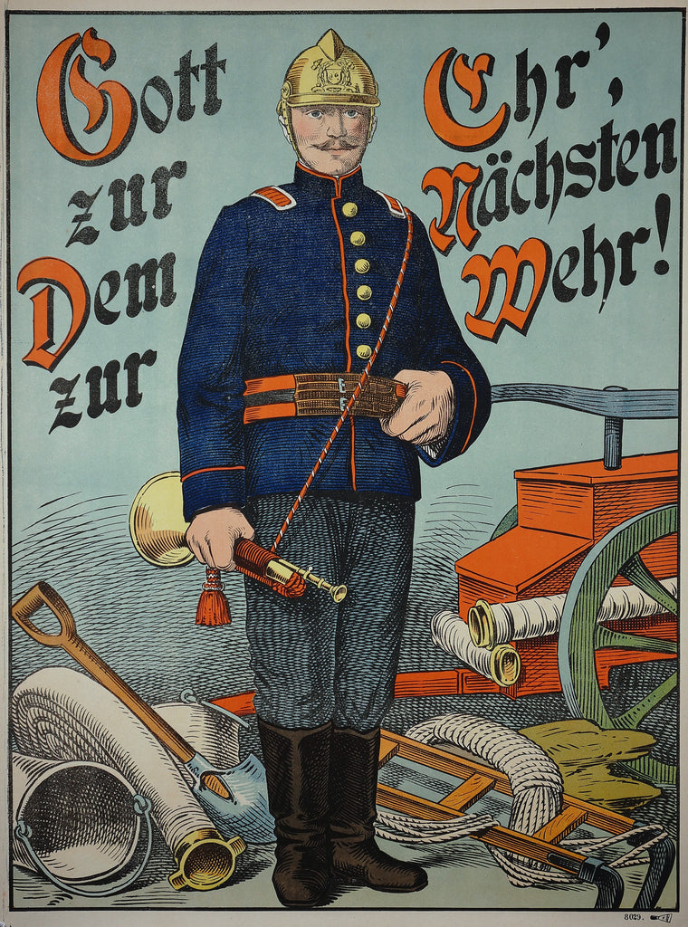 Wissembourg- Pompier (Firefighter) (1890s)