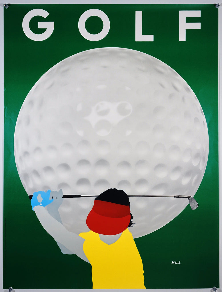 Razzia Golf (1980s) - Original and Authentic Vintage Poster