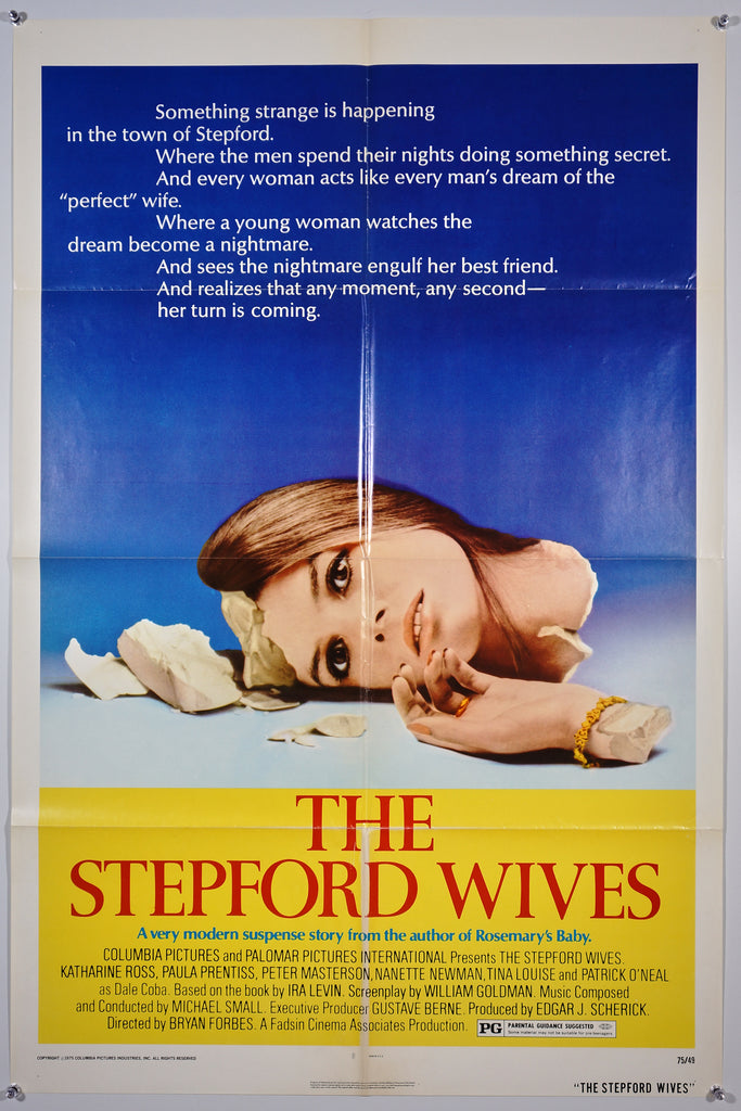 The Stepford Wives (1975) - Original and Authentic Vintage Poster