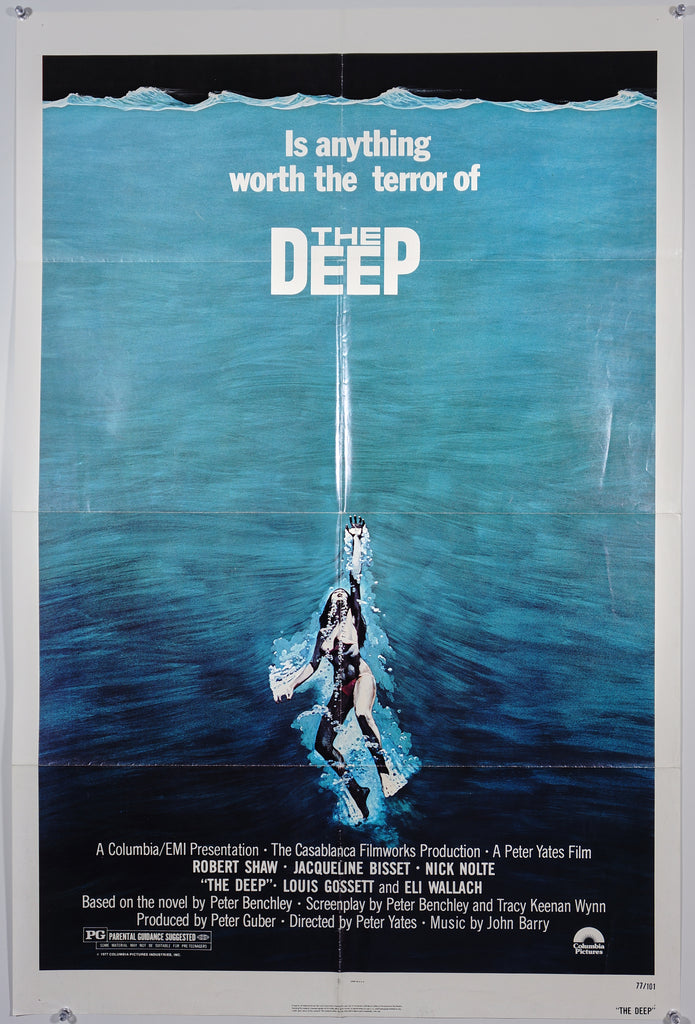 The Deep (1977) - Original and Authentic Vintage Poster