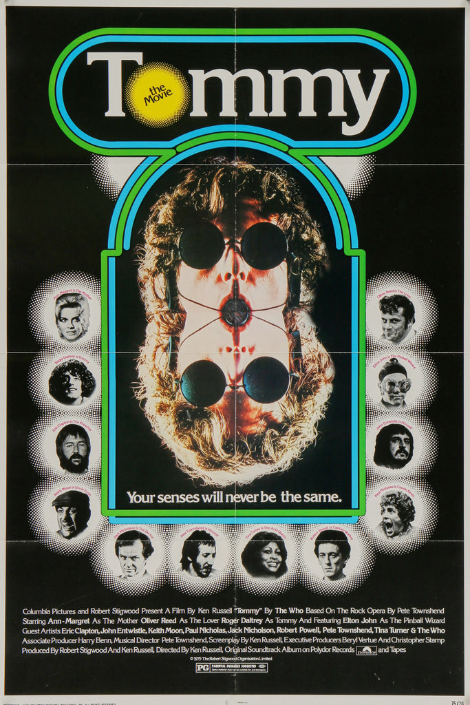 Tommy (1975) - Original and Authentic Vintage Poster