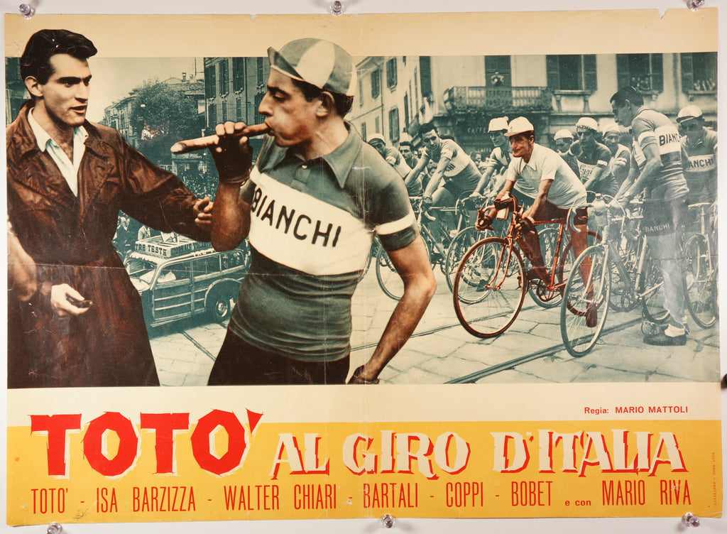 Totò al giro d'Italia (1959) - Original and Authentic Vintage Poster