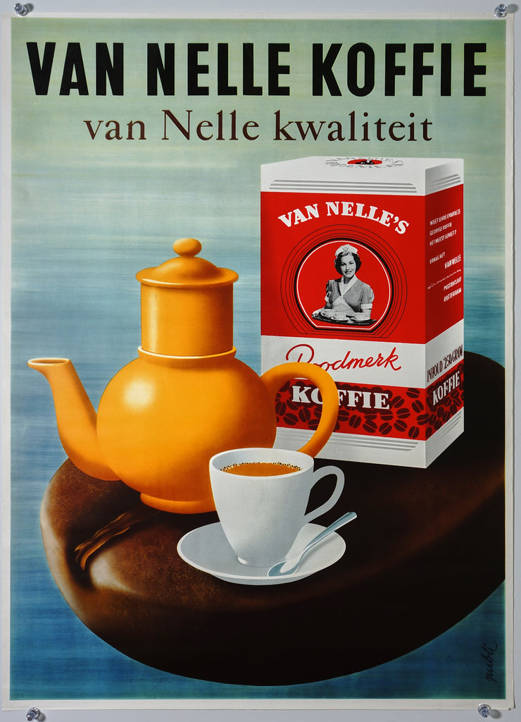 Van Nelle Koffie (1955) - Original and Authentic Vintage Poster