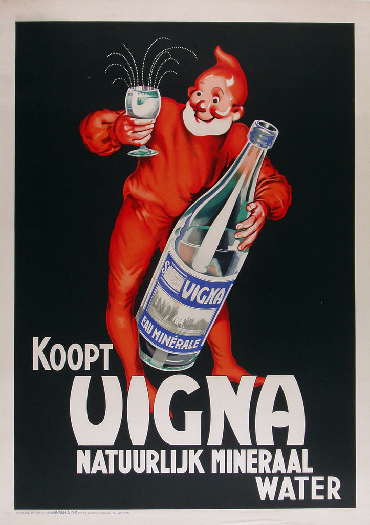 Koopt Vigna (1920s) - Original and Authentic Vintage Poster