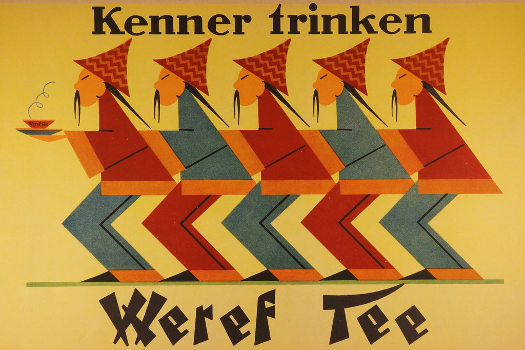 Weref Tee (1930s) - Authentic Vintage Posters