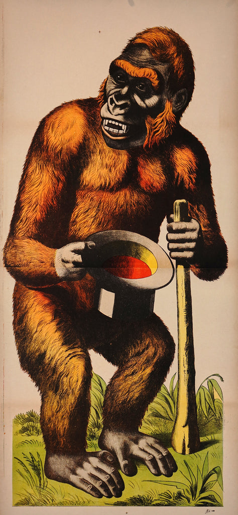 Wissembourg, Gorilla (1880s) - Original and Authentic Vintage Poster