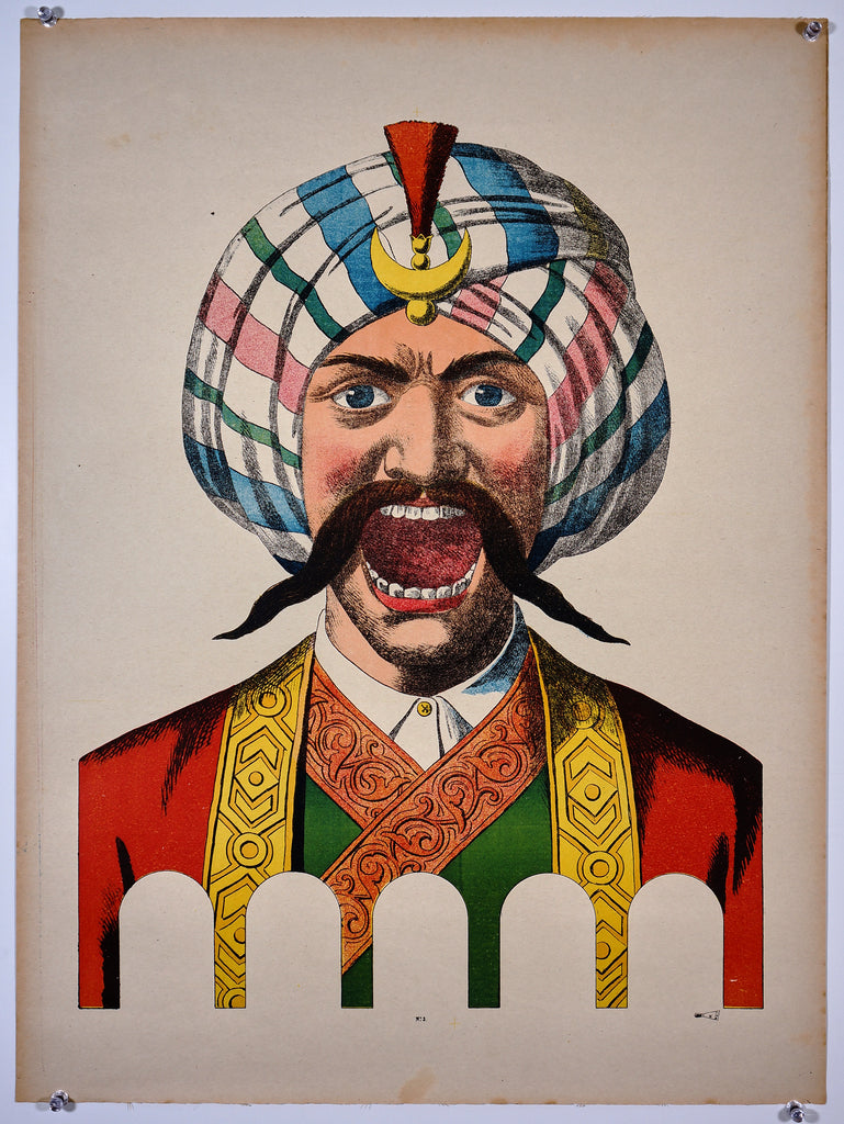 Wissembourg- Man with Turban No. 3 (1890s) - Original and Authentic Vintage Poster