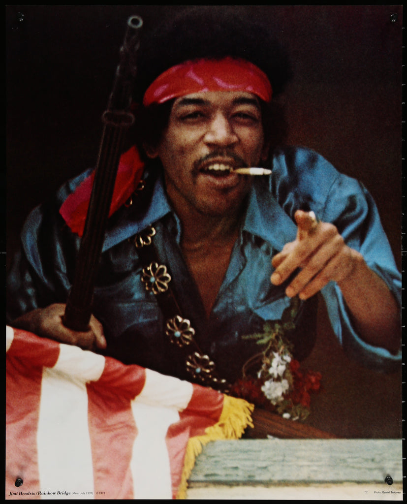 Jimi Hendrix (1971) - Original and Authentic Vintage Poster