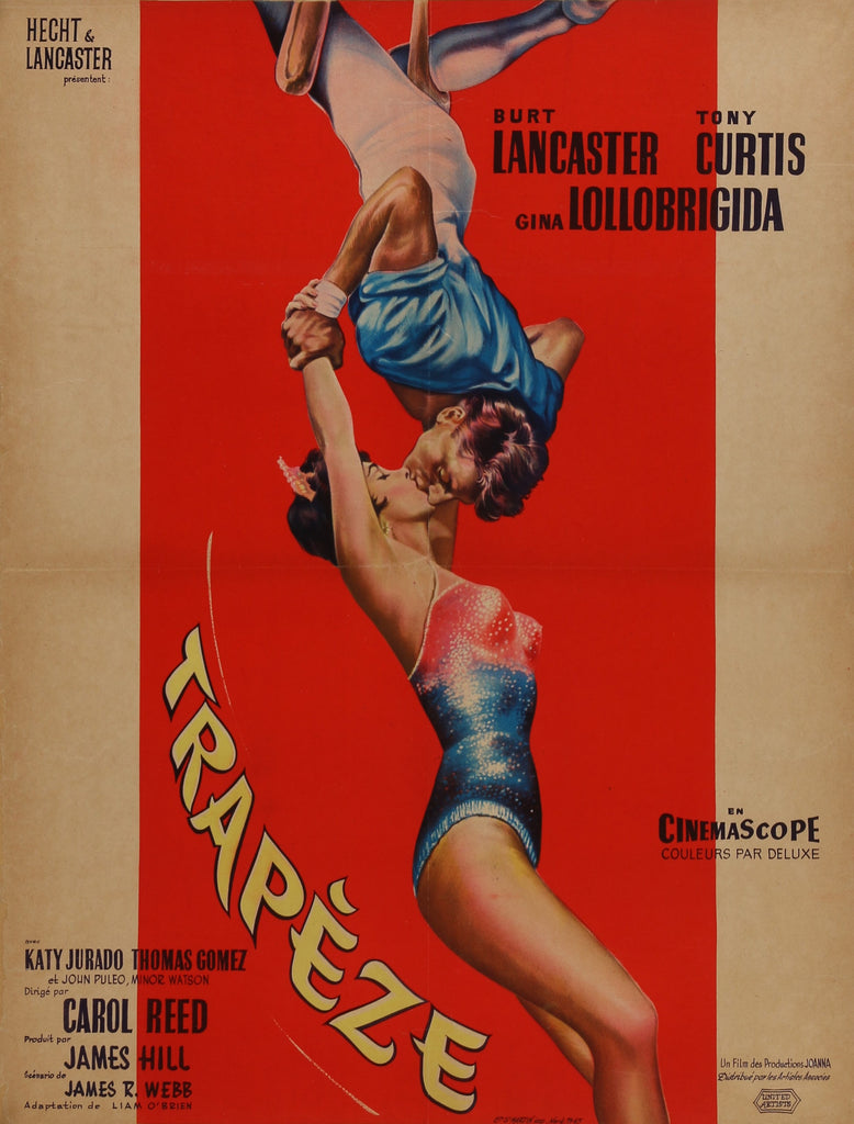 Trapeze (1956) - Original and Authentic Vintage Poster
