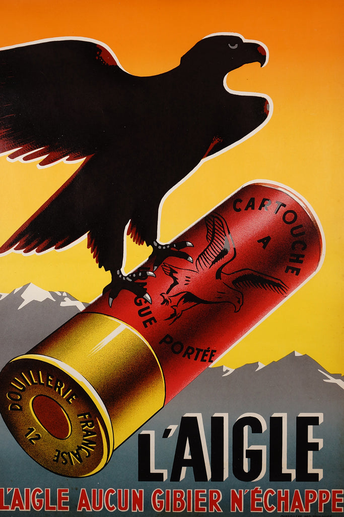 L'Aigle (1930s) - Original and Authentic Vintage Poster