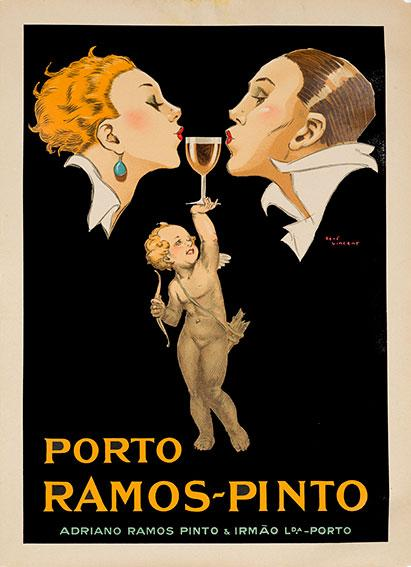 Porto Ramos Pinto (1940s) - Original and Authentic Vintage Poster