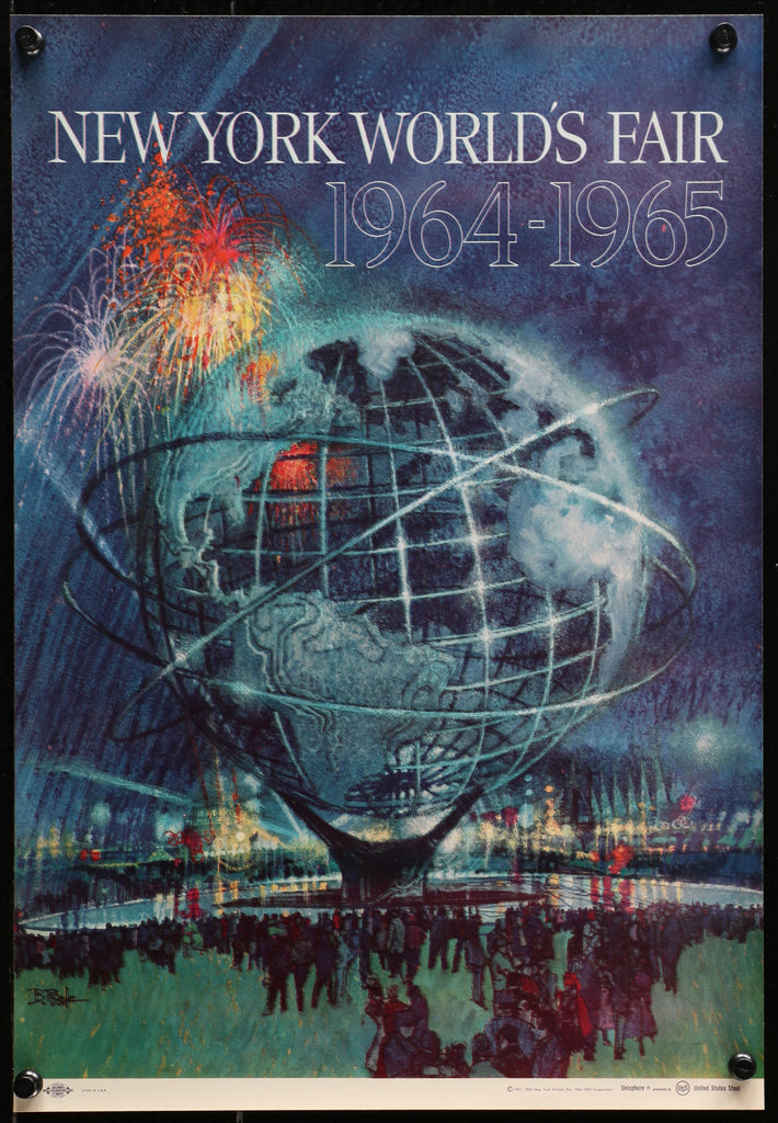 New York World's Fair (1964) - Original and Authentic Vintage Poster