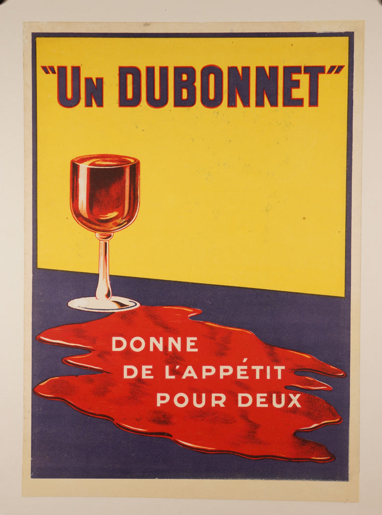 Un Dubonnet (1925) - Original and Authentic Vintage Poster