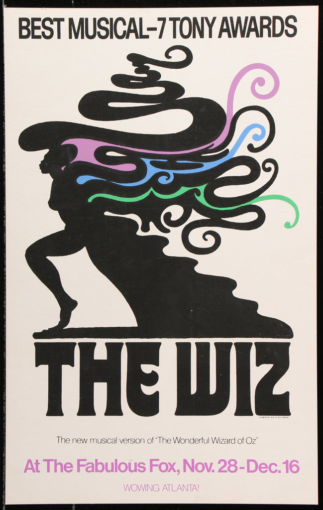 The Wiz (1976) - Original and Authentic Vintage Poster