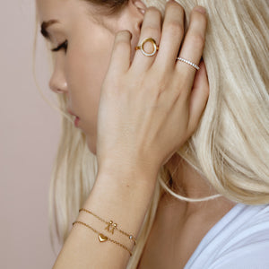 Together My Love armbånd - guld