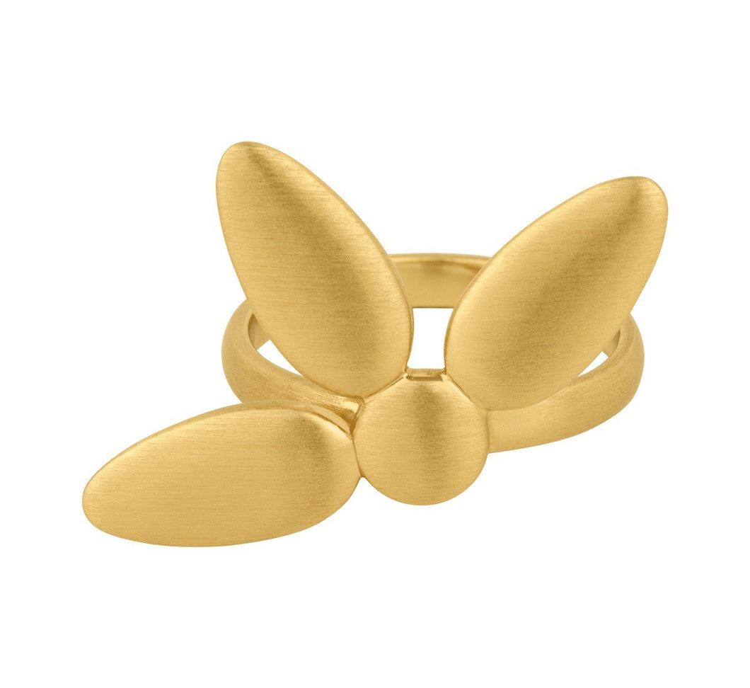Mega-Forget-me-not-ring grande - Guld