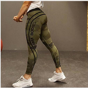 leggings, yoga pants, fitness, activewear, camo