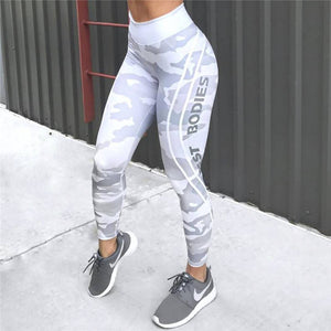 Leggings - Camo Butt-Lifting Workout Yoga Pants - Designer Womens Leggings. Athletic Yoga Pants - TopRank Shop