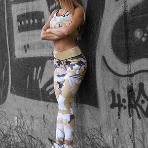 Leggings - Camo Army Yoga Pants - Designer Womens Leggings. Athletic Yoga Pants - TopRank Shop