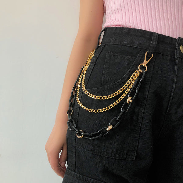 Punk Metal Pants Chain Accessories