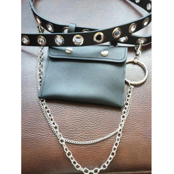 Fashion Belt Detachable Small Waist Bag
