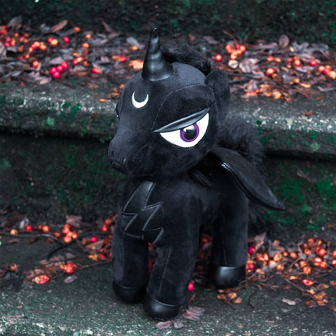 Black Unicorn Doll