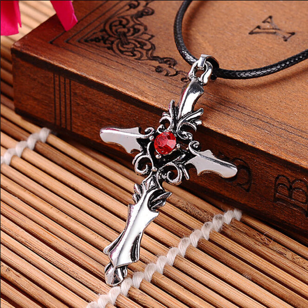 The Vampire Diaries Cross Necklace