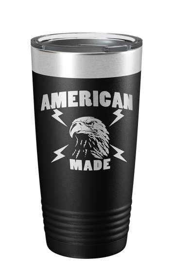 American Made Laser Etched Tumbler - Patriot Wear