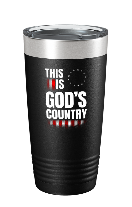 This Is God's Country Color Printed Tumbler - Patriot Wear