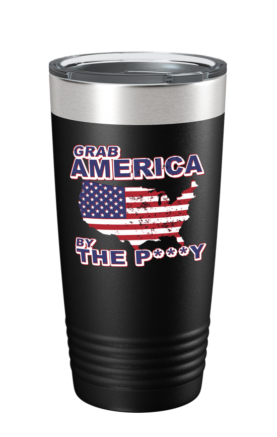 Grab America Color Printed Tumbler