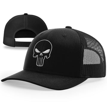 The Punisher Outlined Hat - Patriot Wear
