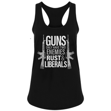 Guns Only Have Two Enemies - Patriot Wear
